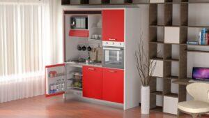 Le cucine salvaspazio monoblocco di Nottiblu.it